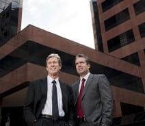 Lawyers Jim & Eric Traut